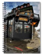 Architecture And Places In The Q.c. Series Laughlin's Spiral Notebook