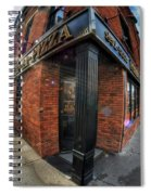 Architecture And Places In The Q.c. Series Prima Pizza 01 Spiral Notebook