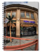 Architecture And Places In The Q.c. Series Purple Monkey Spiral Notebook