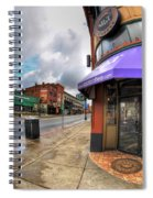 Architecture And Places In The Q.c. Series Spot Spiral Notebook