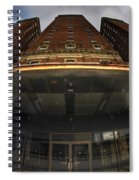 Architecture And Places In The Q.c. Series The Statler Towers Spiral Notebook