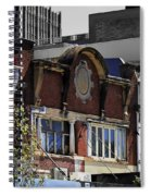 Architecture Color Spiral Notebook