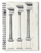 Architecture I Orders Of Architecture Engraved By Charles Lawrie Spiral Notebook
