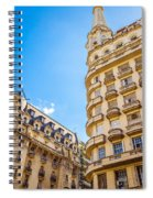Architecture In Buenos Aires Spiral Notebook