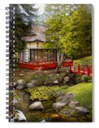 Architecture - Japan - Tranquil Moments  Spiral Notebook