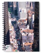 Architecture New York Ny Usa Spiral Notebook