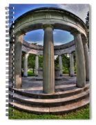 Architecture Of Forest Lawn  Spiral Notebook