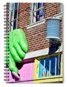 Architecture - Peggy Noland Building Spiral Notebook