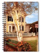 Architecture - Woodstock Vt - Where I Live Spiral Notebook