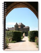 Archway Chateau Of Berze Spiral Notebook
