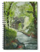 Archway In Central Park Spiral Notebook