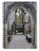 Archway Muckross Abbey Spiral Notebook