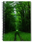 Archway Of Light Spiral Notebook