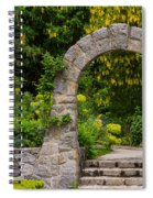 Archway To The Secret Garden Spiral Notebook