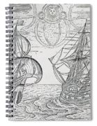 Arctic Phenomena From Gerrit De Veer S Description Of His Voyages Amsterdam 1600 Spiral Notebook