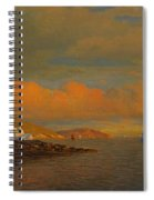 Arctic Sunset Spiral Notebook