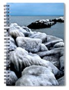 Arctic Waters Spiral Notebook