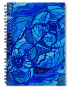 Arcturian Calming Grid Spiral Notebook