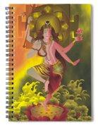 Ardhanareeswara  Spiral Notebook