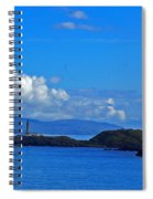 Ardnamurchan Lighthouse 4 Spiral Notebook