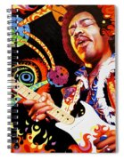 Jimi Hendrix Are You Experienced Spiral Notebook
