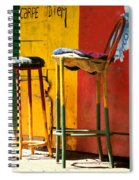 Are You Sitting Comfortably Spiral Notebook