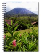 Arenal Costa Rica Spiral Notebook
