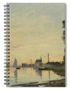 Argenteuil Late Afternoon Spiral Notebook