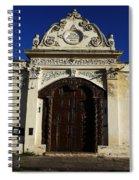 Argentinian Door Decor 3 Spiral Notebook
