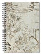 Aristotle And Phyllis Spiral Notebook