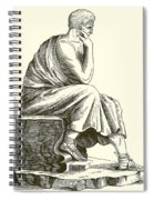 Aristotle Spiral Notebook