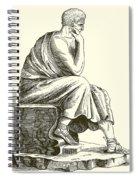 Aristotle Spiral Notebook
