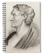 Aristotle From Crabbes Historical Dictionary Spiral Notebook