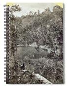 Arizona Apache Lake, 1873 Spiral Notebook