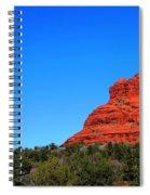 Arizona Bell Rock Hdr Spiral Notebook