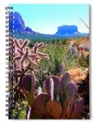 Arizona Bell Rock Valley N4 Spiral Notebook