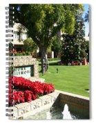 Arizona Biltmore Christmas Spiral Notebook