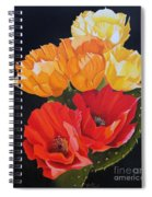 Arizona Blossoms - Prickly Pear Spiral Notebook