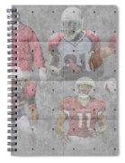 Arizona Cardinals Legends Spiral Notebook