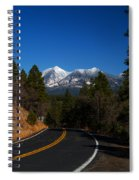 Arizona Country Road  Spiral Notebook