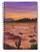 Arizona Desert Spiral Notebook