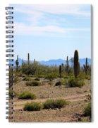 Arizona Desert Ride Spiral Notebook