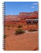 Arizona Road Trip Spiral Notebook