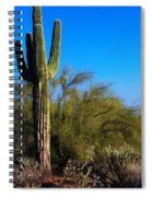 Arizona Saguaro Spiral Notebook
