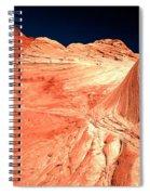 Arizona Sandstone Waves And Lines Spiral Notebook