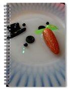 Arizona Snowman Spiral Notebook