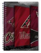 Arizona Sports Teams Spiral Notebook
