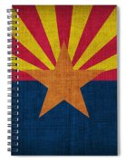Arizona State Flag Spiral Notebook