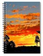 Beautiful Arizona Sunset Spiral Notebook
