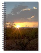 Arizona Sunset Spiral Notebook